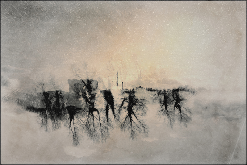 PRO FB winterlandscape in the clouds
